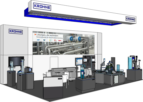 KROHNE SPS Booth 2014